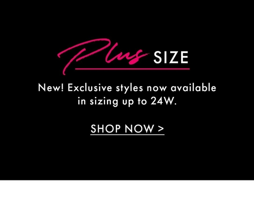 shop the plus size collection