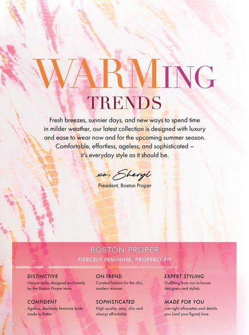 pink and orange tie-dye background: warming trends.
