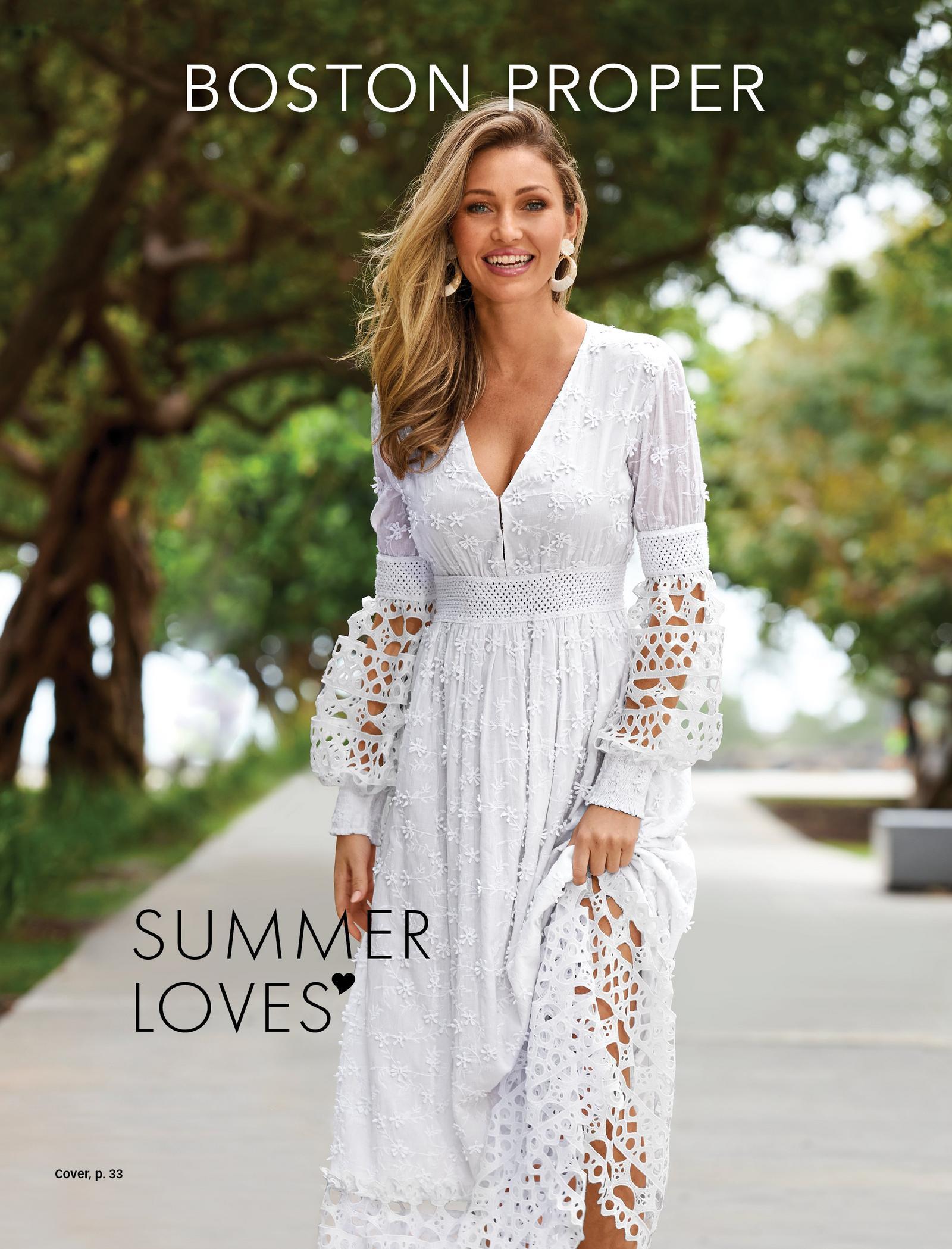 model wearing a white long-sleeve lace v-neck maxi dress.