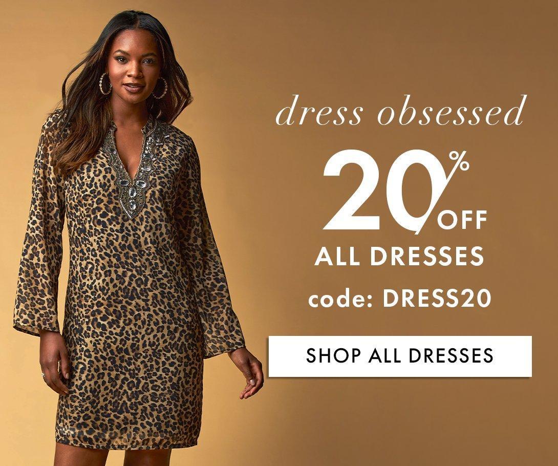 20% Off All Dresses!