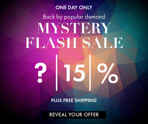 Mystery Flash Sale!