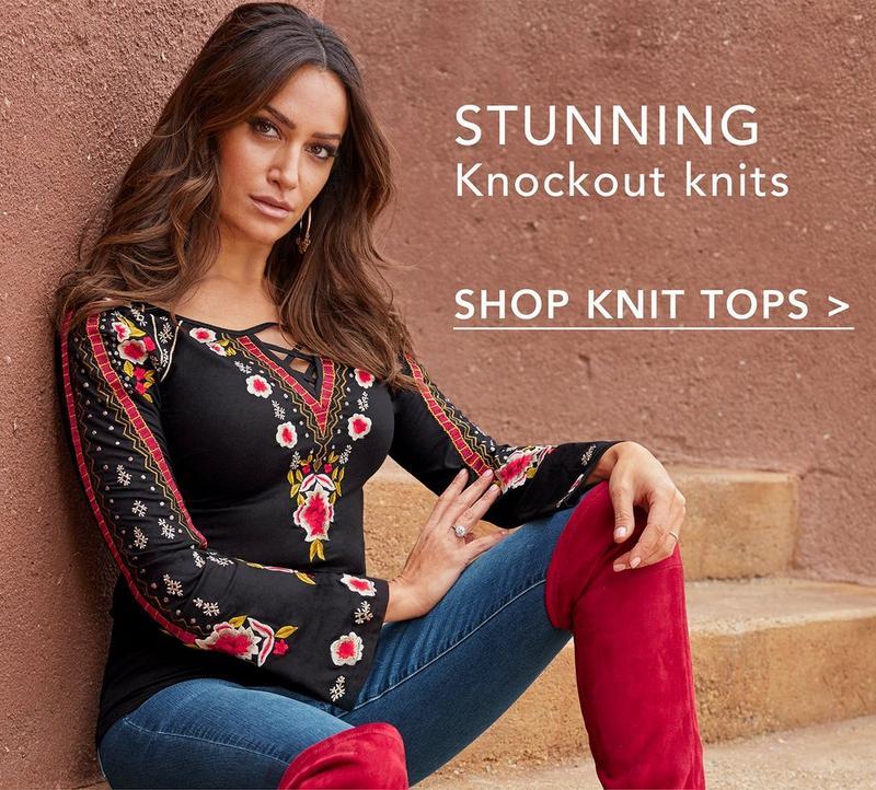 shop knit tops