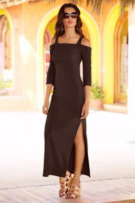 Cold Shoulder Travel Maxi Dress
