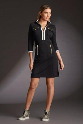 Chic zip sport dress