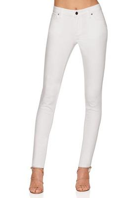 Five pocket high rise skinny jean