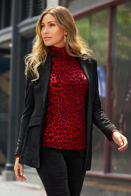 Beyond Travel™ Classic Boyfriend Blazer Plus