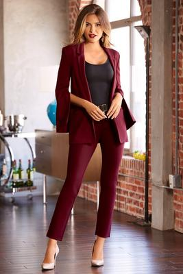 Display product reviews for Five pocket slim ponte pant