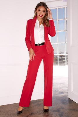 Display product reviews for Single button crepe blazer