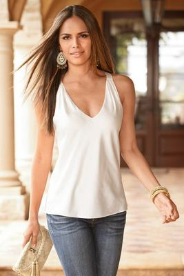 Nikki V Neck Blouse