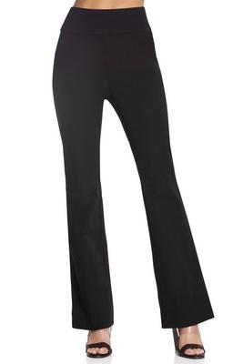 Everyday side zip twill bootcut pant
