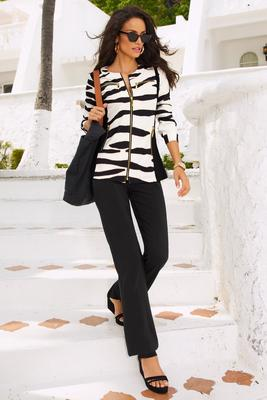 Beyond travel™ zebra two piece warm up