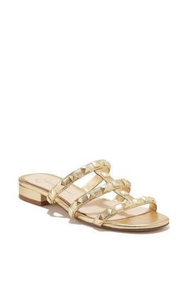 studded slip on sandal