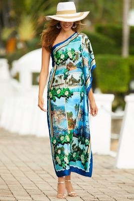 Scenic one shoulder dress