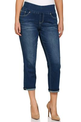Display product reviews for Amelia slim ankle pull on jean