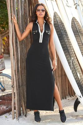 Display product reviews for Chic zip maxi dress