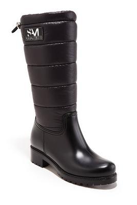 puffer snow boot