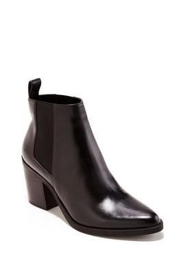 Weatherproof Leather Bootie