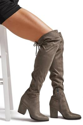 classic over-the-knee stretch boot