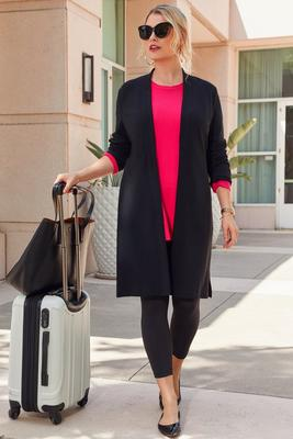 Beyond Travel™ Long Cardigan