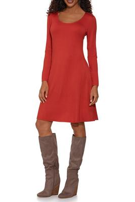 Beyond Basics Long Sleeve Swing Dress