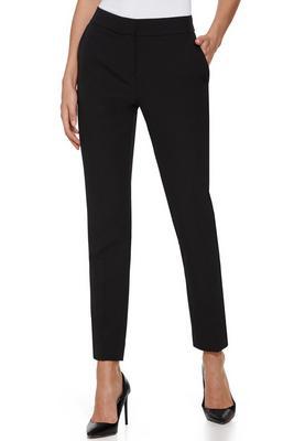 Chic Crepe Slim-Leg Pant