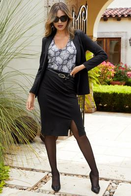 Display product reviews for Proper ponte pencil skirt