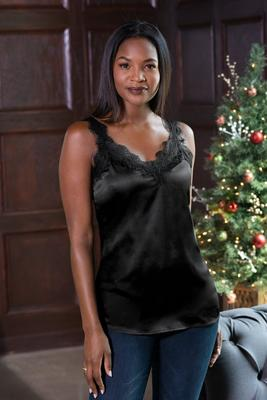 Display product reviews for Lace Trim Charm Cami