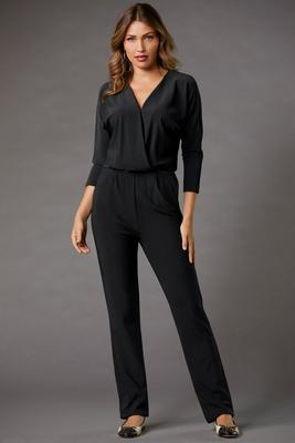 Beyond Travel™ Surplice Jumpsuit