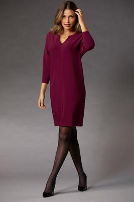 Beyond Travel™ V-Neck Shift Dress