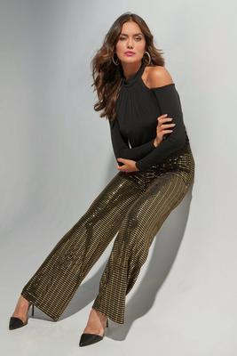 Display product reviews for Shimmer Mirrored Palazzo Pant