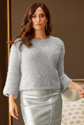 Shimmer Plush Sweater