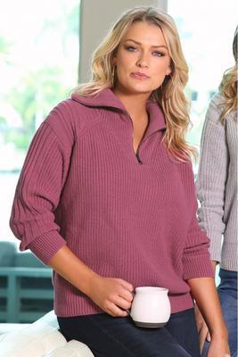 Polo Half-Zipped Sweater