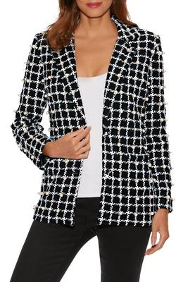 Display product reviews for Pearl Embellished Tweed Jacket