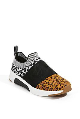 animal print sportknit sneaker