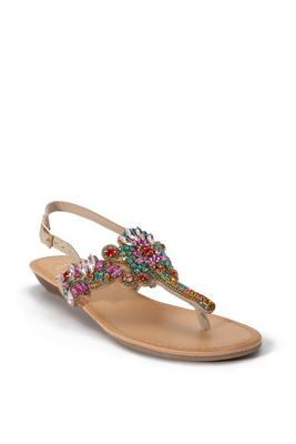 Display product reviews for Crystal Embellished Sandal