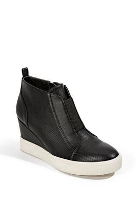 slip-on wedge sneaker