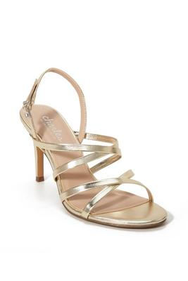 Barely-There Strappy Heel
