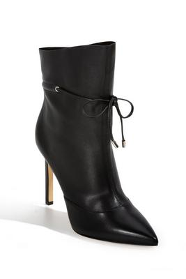 Front-Tie Ankle Bootie