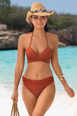 Swim Sense Underwire Wrap Bikini Top