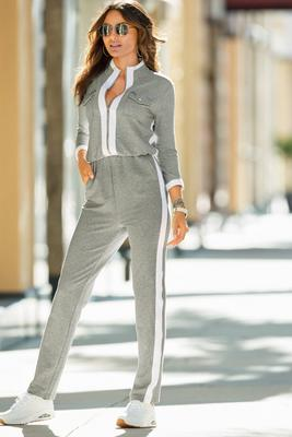 Display product reviews for Three-Quarter Sleeve Chic-Zip Jumpsuit