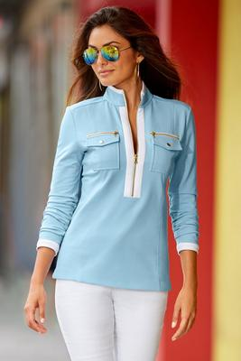 Chic Zip Pullover