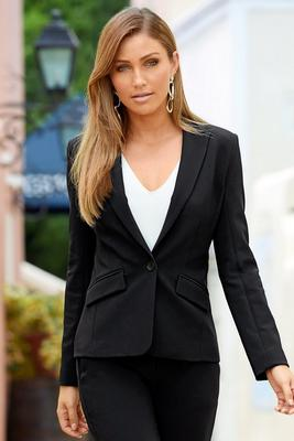 Beyond Travel™ Classic One-Button Blazer