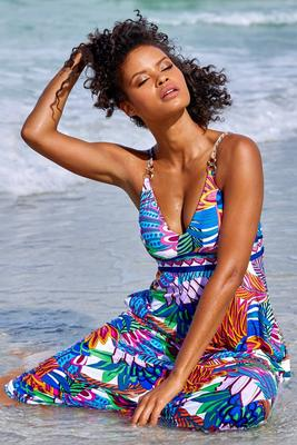 Paradise Pocket Maxi Dress Cover-Up