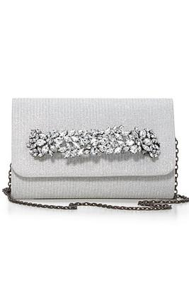 jeweled holiday clutch