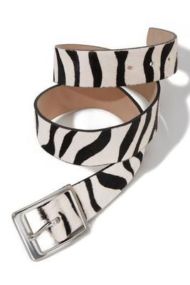 Classic Zebra Belt