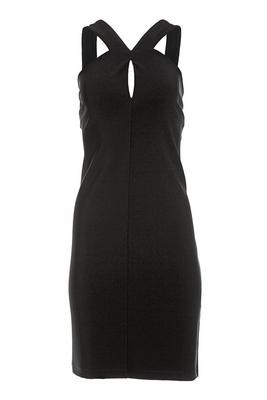 Beyond Travel™ Keyhole Short Dress
