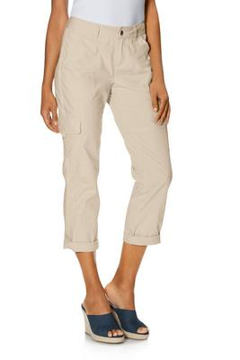 mid-rise crop cargo pant