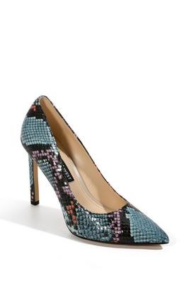 Multi Snake High-Heel Pump