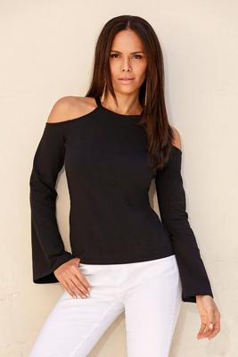 So Sexy™ Cutout Flare-Sleeve Top