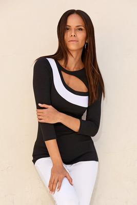 So Sexy™ Cutout Color-Block Top